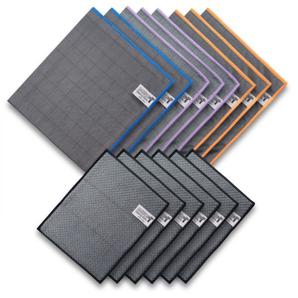 Nova Carbon Cloth Sponge Set